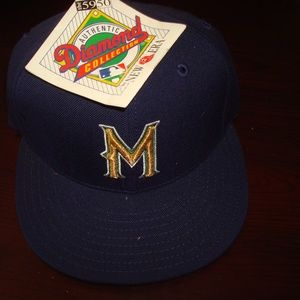 Other - MILWUKEE BREWERS VINTAGE NEW ERA 90S HAT CAP TAGS